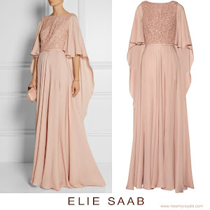 Princess Madeleine : ELIE SAAB Dress