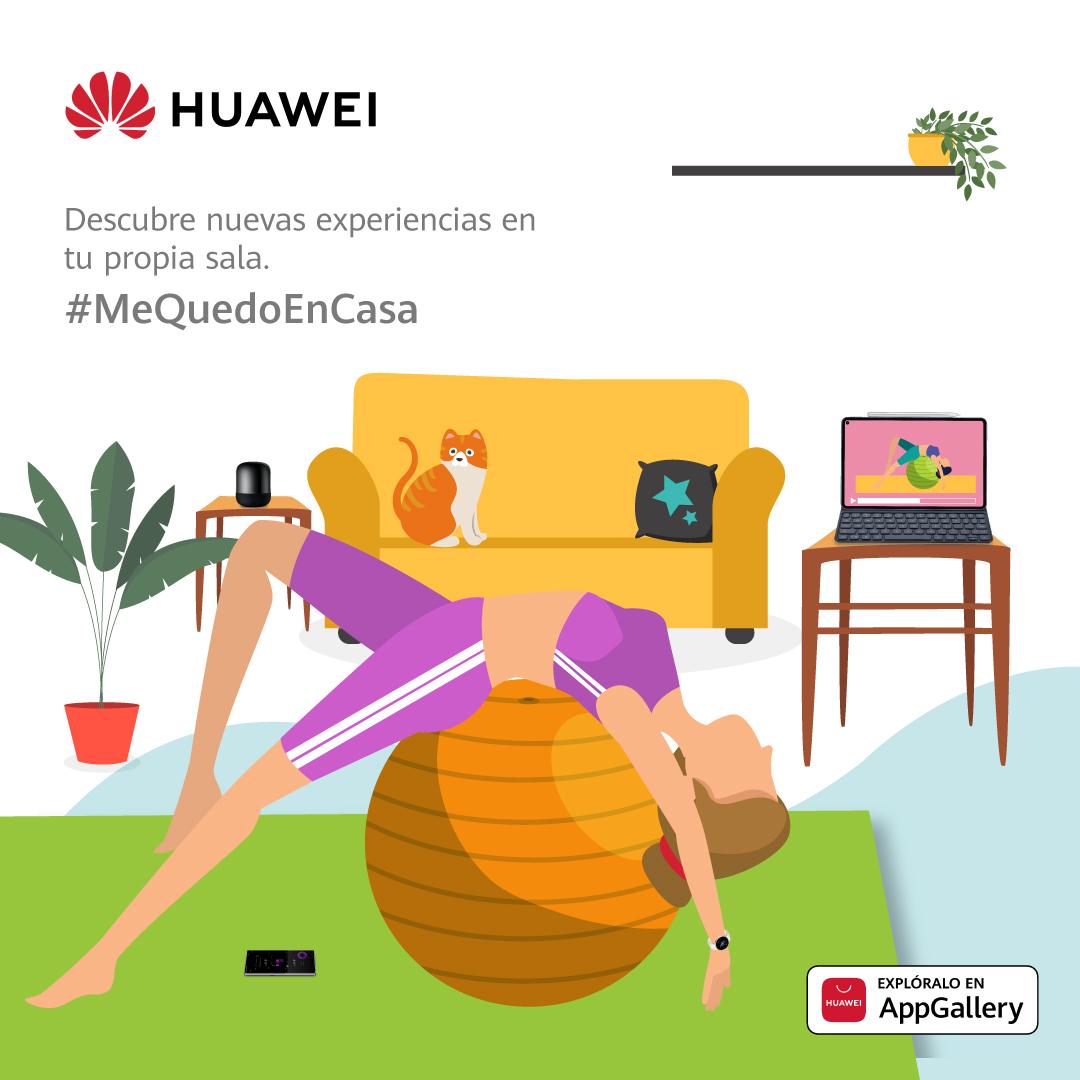 Huawei Appgallery sorprende con aplicaciones gratuitas para entrenar y comer sano desde casa