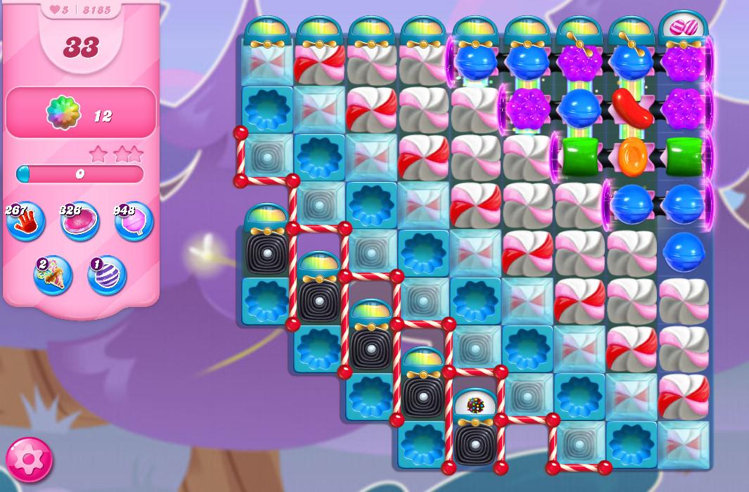 Candy Crush Saga level 8185