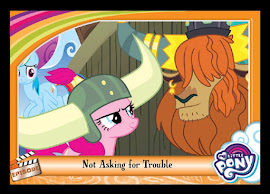 My Little Pony Not Asking for Trouble Series 5 Trading Card