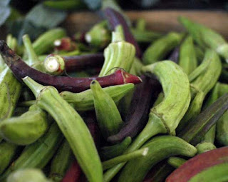 Okra is a vegetable, a good source of minerals, vitamins, and fiber.