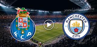 مشاهدة مباراة مانشستر سيتي وبورتو بث مباشر بتاريخ 21-10-2020 في دوري أبطال أوروبا