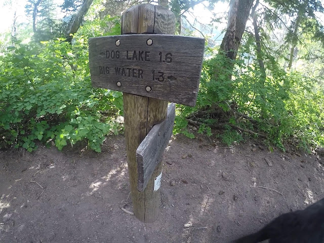 Hiking to Dog Lake, Millcreek Canyon