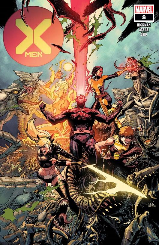 Cover of X-Men #8