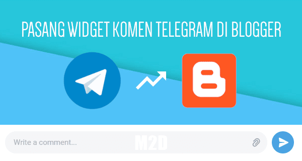 Pasang Kotak Komentar Telegram di Blogger