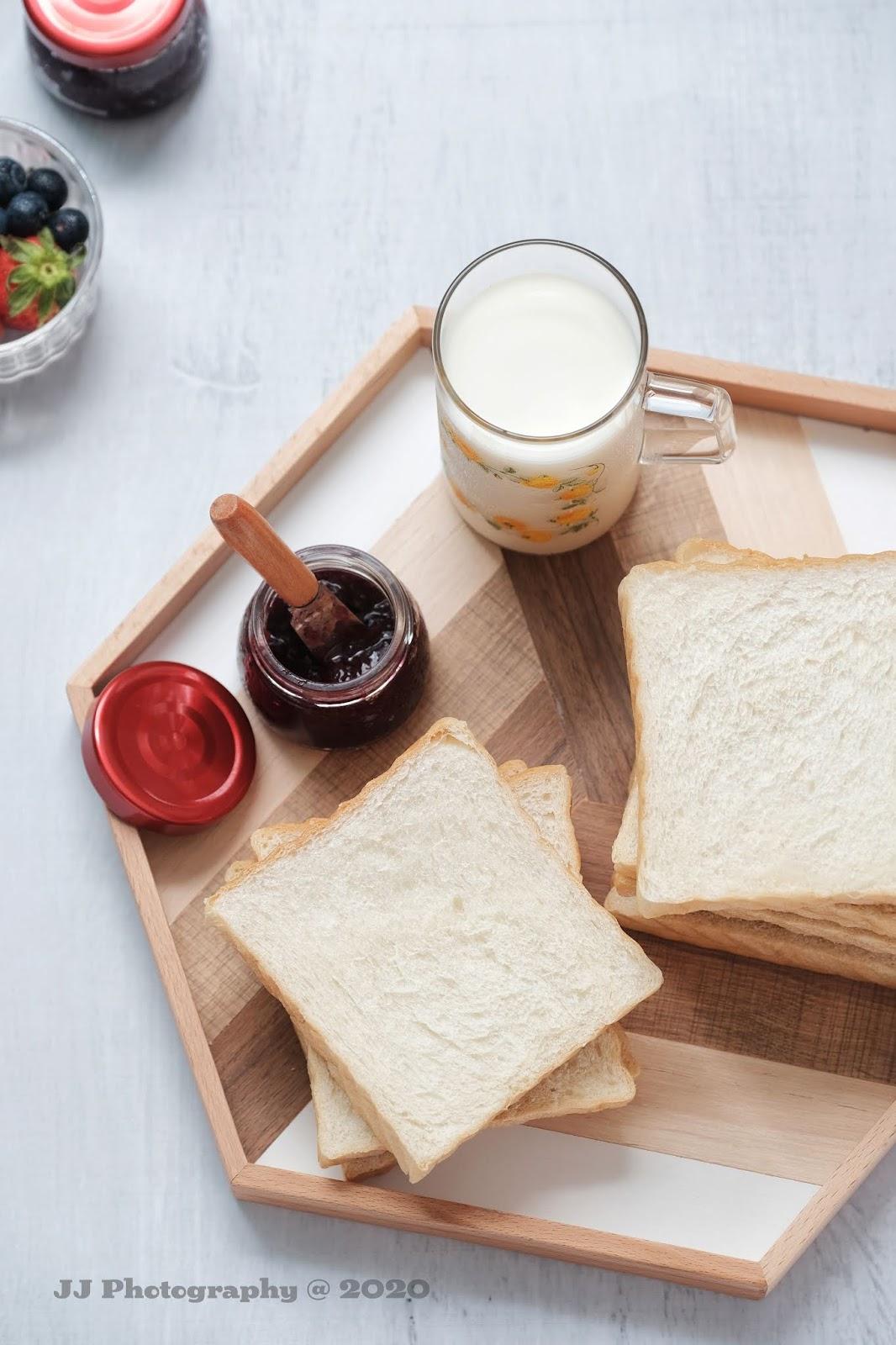 愛廚房的幸福之味: 日本生吐司 RAW Toast