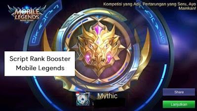 Script Rank Booster Mobile Legends