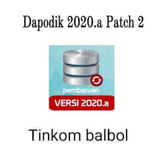 Dapodik 2020.a Patch 2