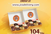 Promo JCO Spesial Order Delivery 2 Lusin Donuts Rp104.000 Periode 6 - 12 April 2020