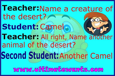Funny teacher student jokes in English