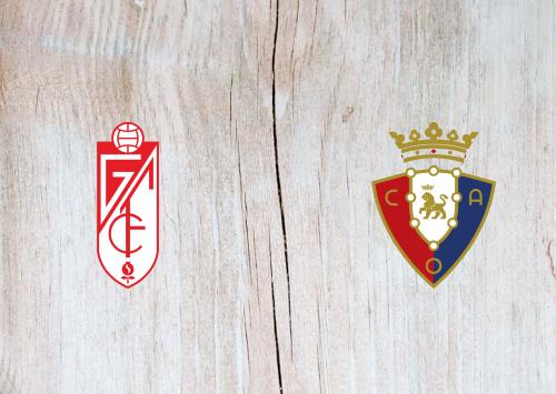 Granada vs Osasuna -Highlights 18 October 2019