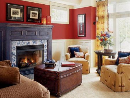 Imbiancare casa idee abbinamento colori idee per for Idee imbiancatura soggiorno