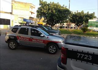 Pai  e filho trocam agressões e são presos por policiais do 4º BPM em Cuitegi