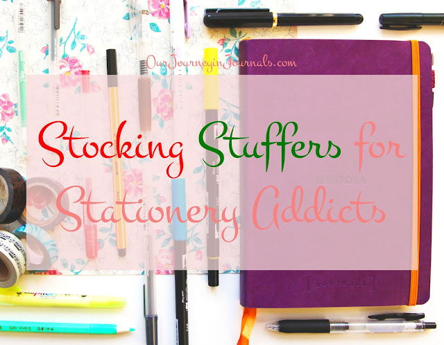 Stocking Stuffers for Stationery Addicts