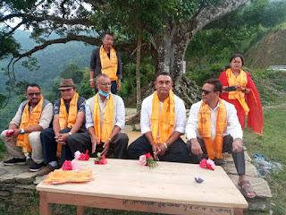 स्याङ्जाका युवा संघका नेता काँग्रेस प्रबेश