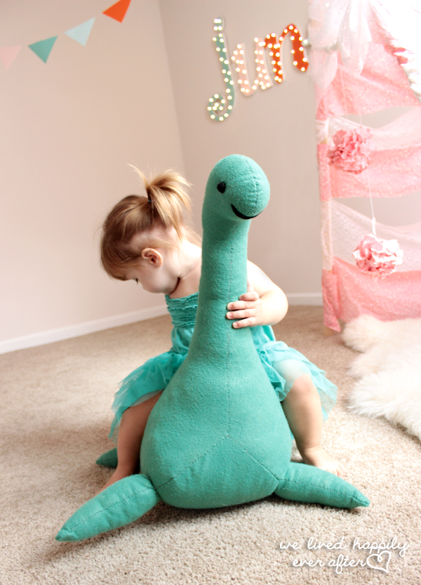 Stuffed Loch Ness monster