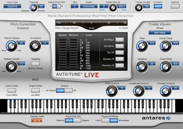 Download Antares Auto-Tune Pro (Mac) - Cracked VST - Audio