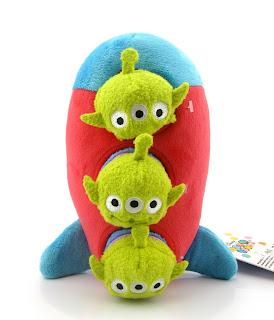 Toy Story Three pizza planet Aliens ''Tsum Tsum'' Plush Set