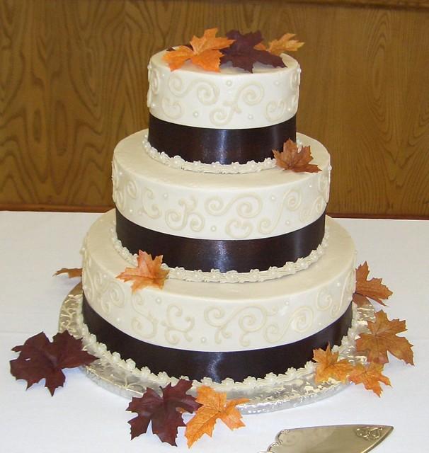 Fall Wedding Cakes Ideas: Beautiful Bridal: Fall Wedding Cake Ideas