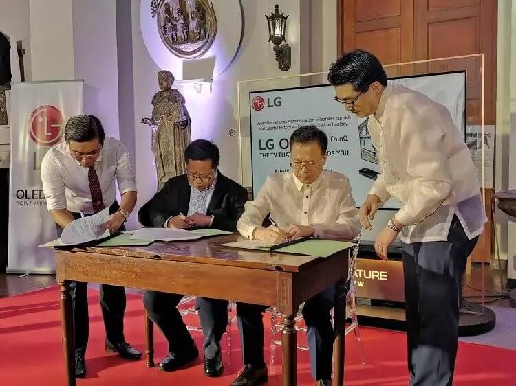 LG Philippines x Museo de Intramuros