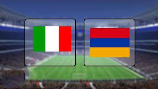 اون لاين مشاهدة مباراه ايطاليا ضد ارمينيا بث مباشر 5-9-2019 اليوم بدون تقطيع