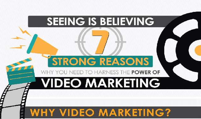 Seeing Is Believing: 7 Strong Reasons Why You Need to Harness the Power of Video Marketing #infographic