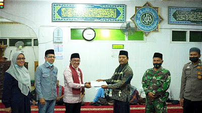 Masjid Raya Rambatan jadi Kunjungan Pertama Safari Ramadan Bupati Eka