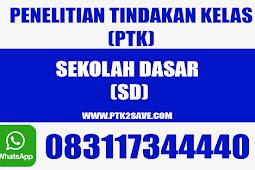 Judul PTK Tematik SD Kurikulum 2013