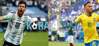 مشاهدة مباراة البرازيل و الأرجنتين بث مباشر اليوم 03-07 ...