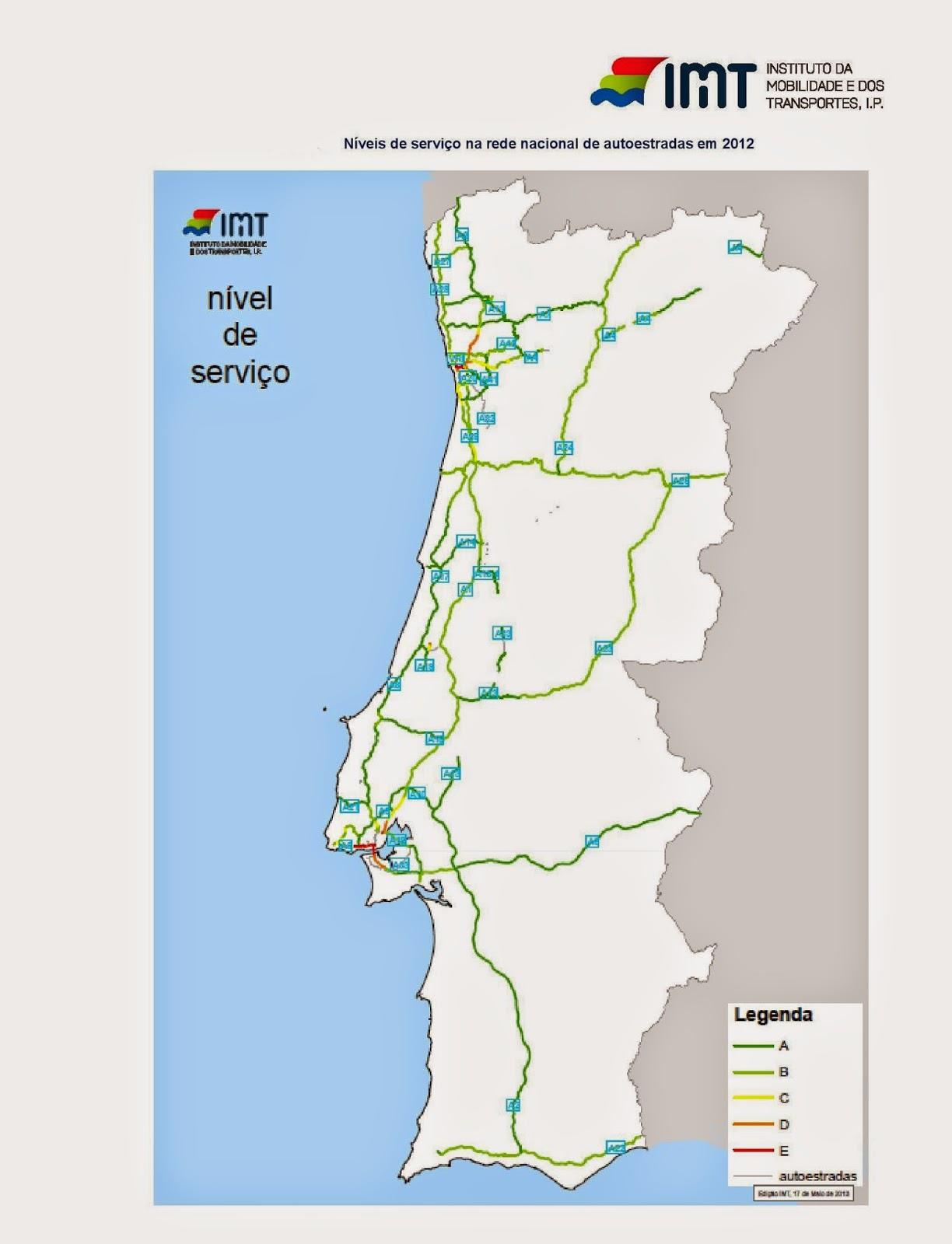 mapa de portugal com autoestradas Estradas de Portugal   SkyscraperCity mapa de portugal com autoestradas