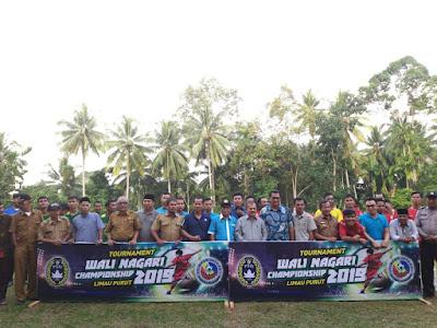 Tournanent Walinagari Championship Limau Puruik 2019, Resmi Dibuka Bupati Ali Mukhni