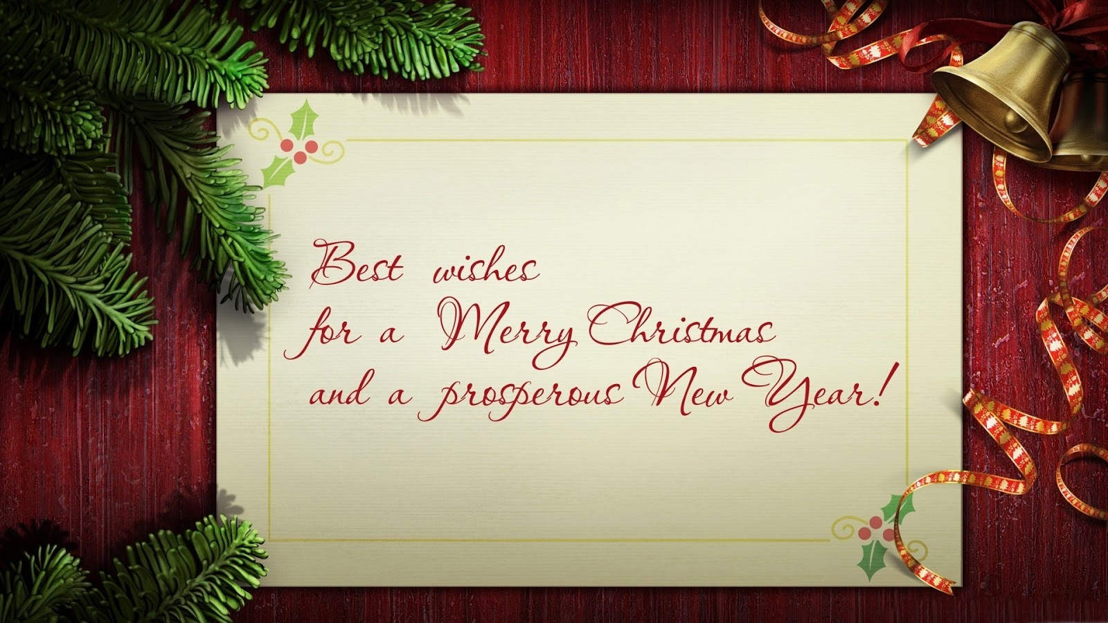 Merry Christmas Wishes 25 Awesome Christmas Greeting Cards