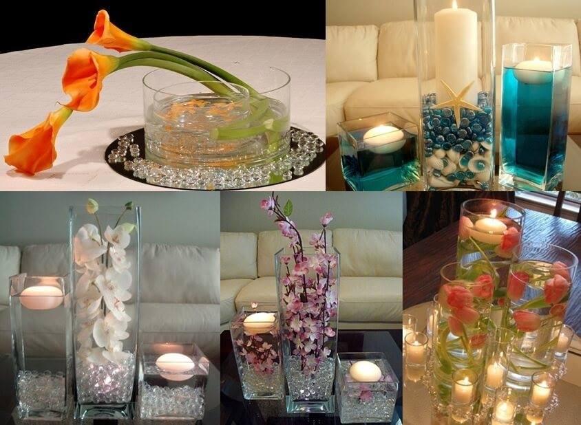 Imagenes fantasia y color lindas decoraciones con velas flotantes - Decoracion con velas ...