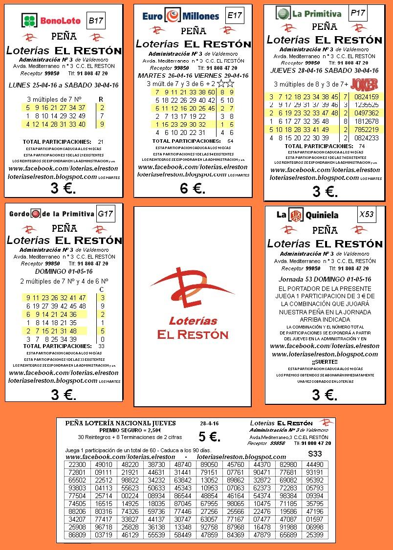 loteria nacional quiniela: