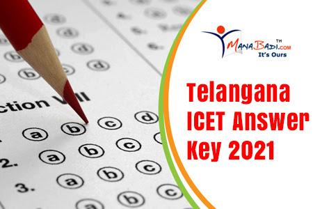 TS ICET Answer Key 2021