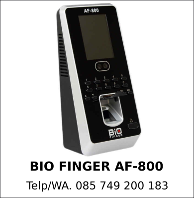 Harga Grosir Bio Finger AF-800 Murah