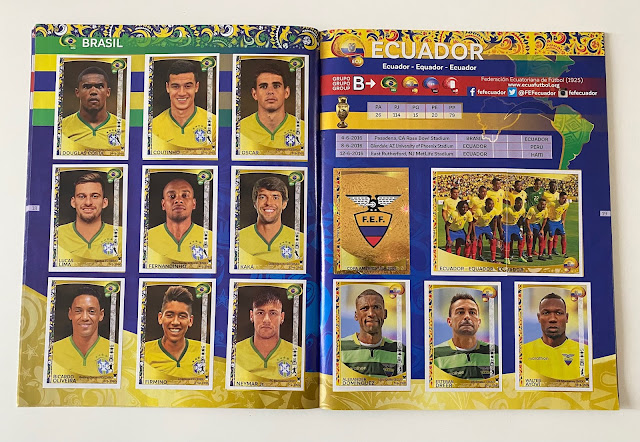 Figurine Brasile Copa America 2016