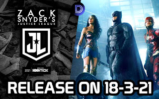 Zack Snyder's Justice League Officially Releasing On 18 March 2021