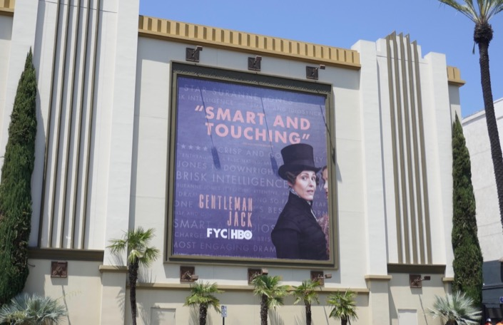 Gentleman Jack season 1 Emmy FYC billboard