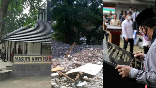 Dirobohkan Zaman Jokowi-Ahok, Masjid Amir Hamzah TIM Dibangun Anies dan Kini Sudah Jadi, HNW: Semoga Berkah