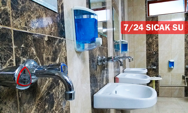 Büyük Cami'nin Tuvaletleri Yenilendi