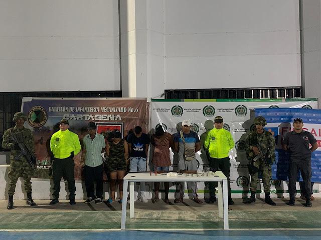 Operación ODIN en La Guajira:  Cinco capturados y dos armas decomisadas