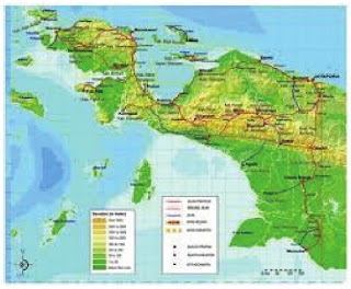 bentang alam pulau papua kelas 5