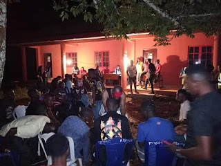 Edo Youths Keep Vigil