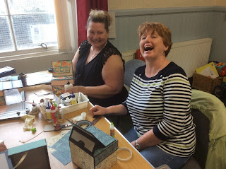 Crafting in Tillicoultry, Scotland with Clare Charvill