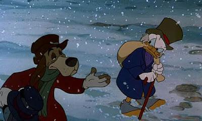 Από τη Χριστουγεννιάτικη Ιστορία του Μίκυ / Scene from Mickey's Christmas Carol
