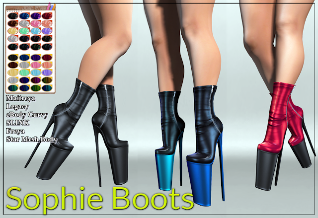 New Release: !! Julia Style !! Sophie Boots
