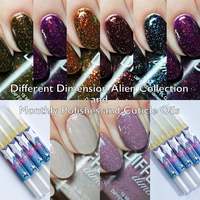 Different Dimension Alien Collection and Polishes of the Month