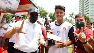 LaNyalla: Jadikan Sepakbola Inspirasi untuk Capai Tujuan Amandemen Konstitusi