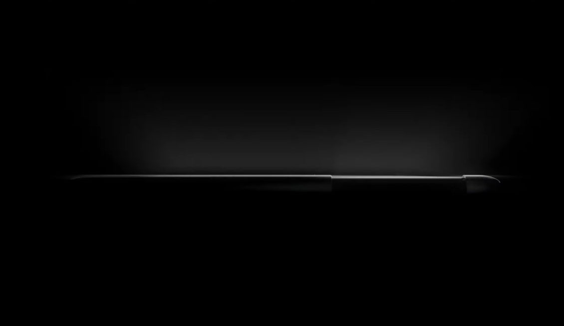 LG is advertising for a sliding and stretching screen phone